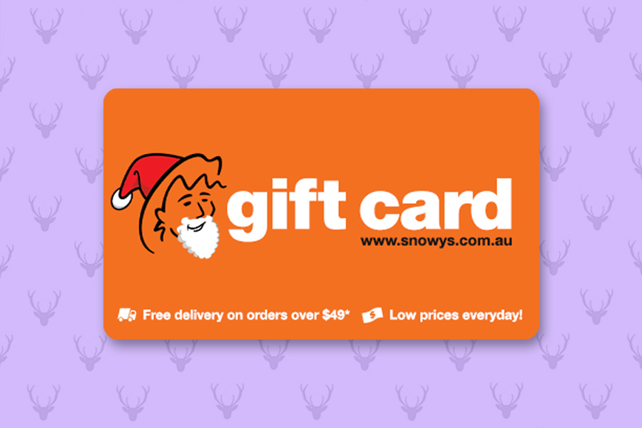 A Snowys Gift Card is a surefire winner.