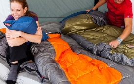 How to find the perfect sleeping bag!
