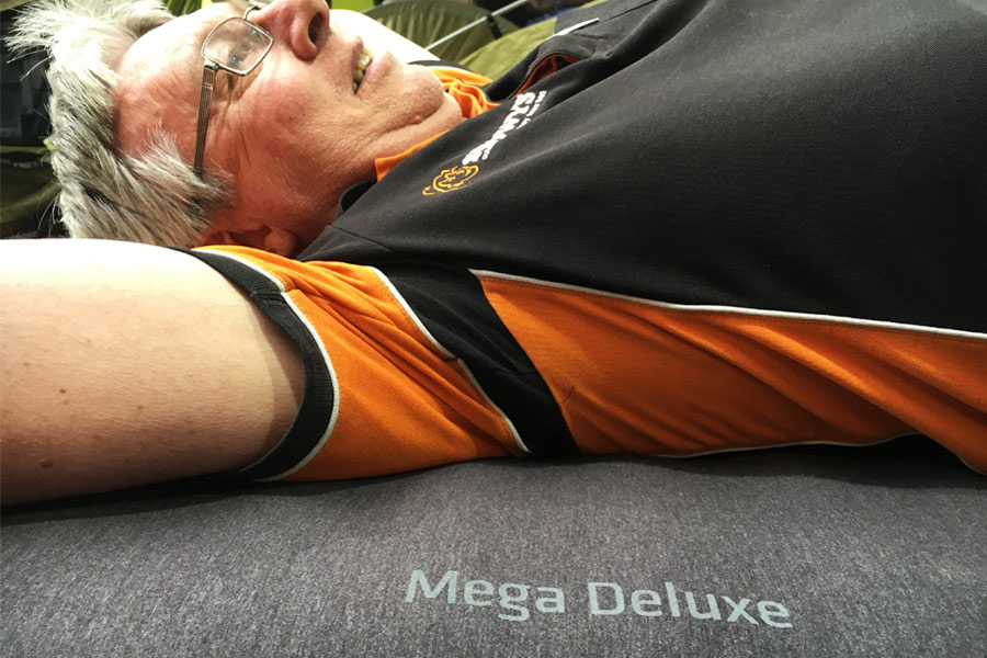 The Mega Deluxe is one of the most comfortable camping mattresses