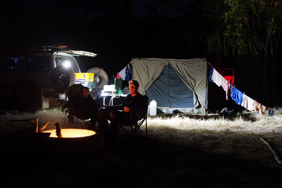 Lighting Your Campsite What You Need To Know Snowys Blog