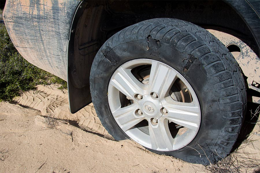 Punctures-are-common-on-the-limestone