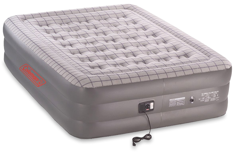 Coleman Queen Double High Quickbed with Pump