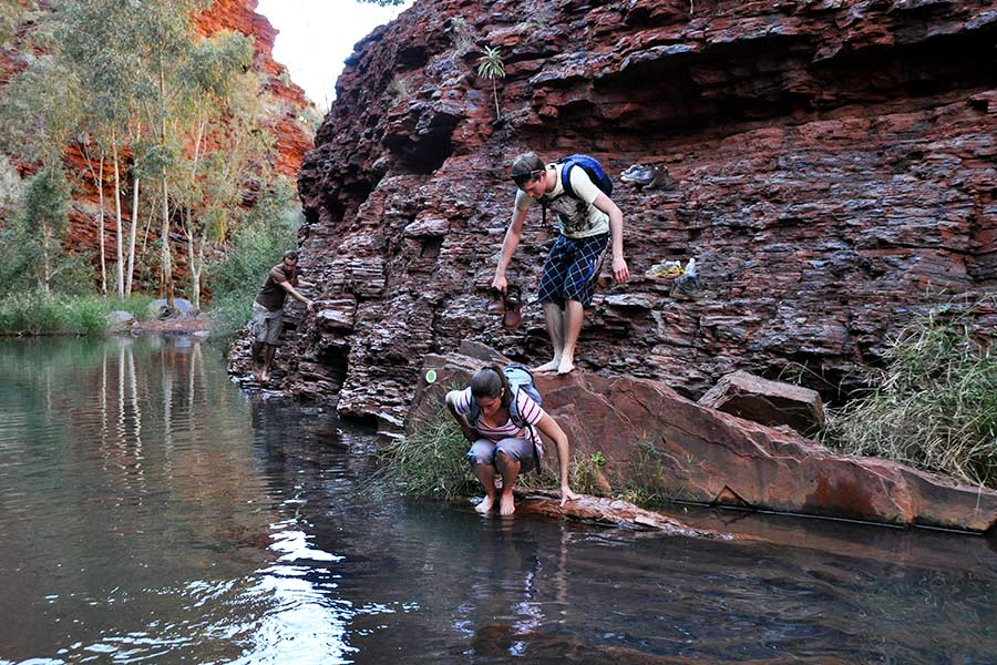 Karijini-can-be-hot,-cold-or-underwater