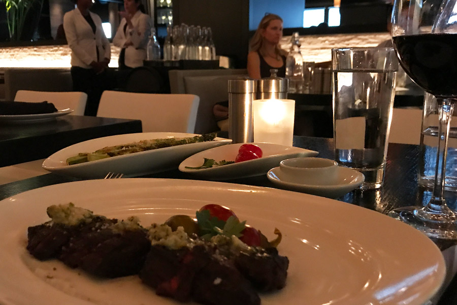 Thinking about my tip at RPM Chicago Italian Restaurant