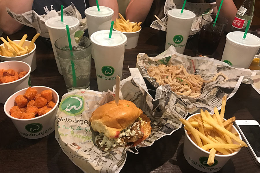 Wahlburgers has some of the best burgers in America