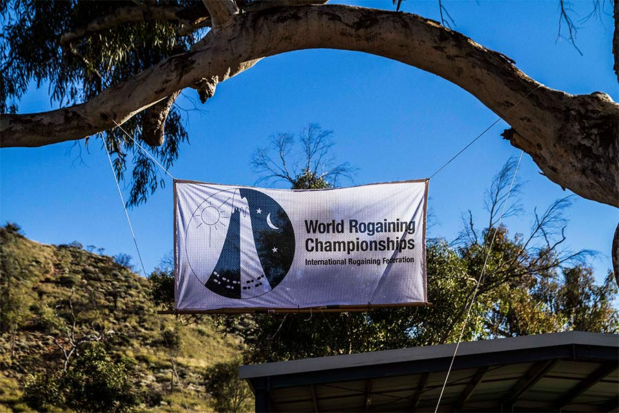 World Rogaining Championship flag