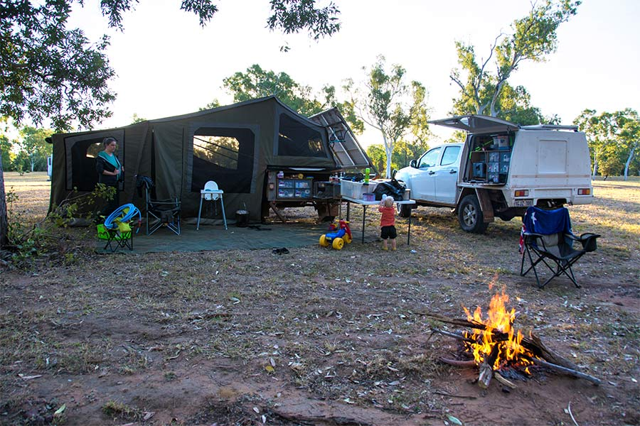 Our-camp-site-at-Lorella