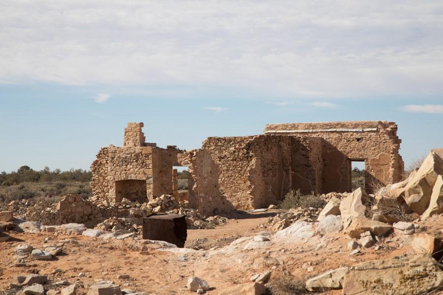 Historical ruins of Farina
