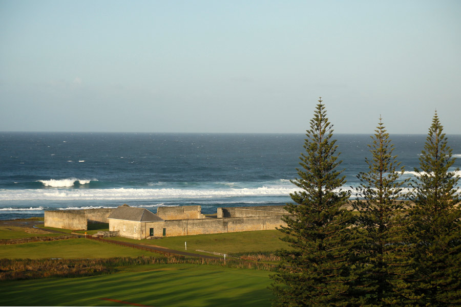 View of UNSECO in Norfolk Island