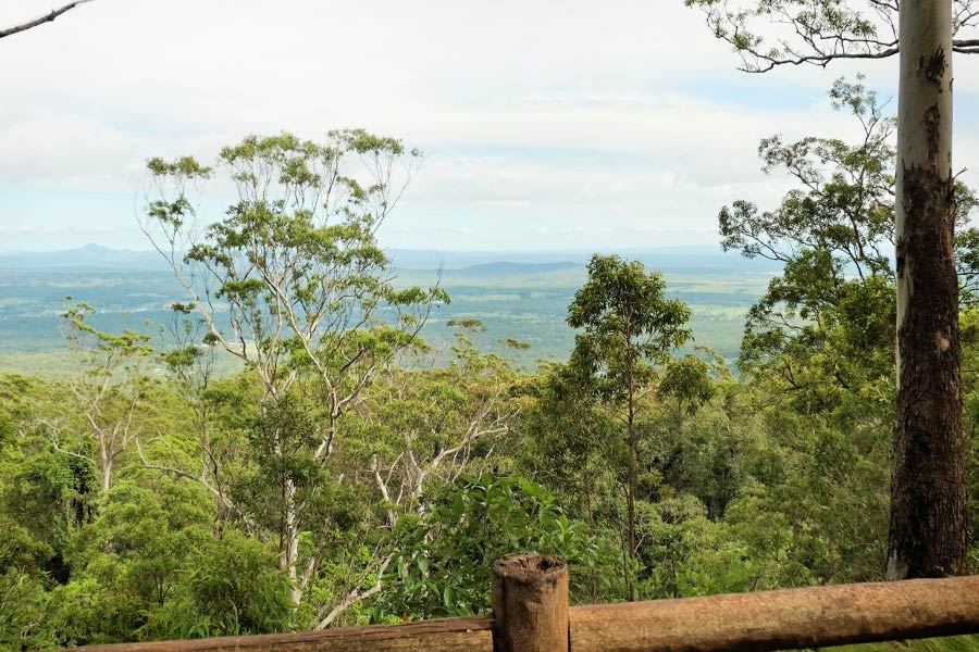 The view from Knoll lookout