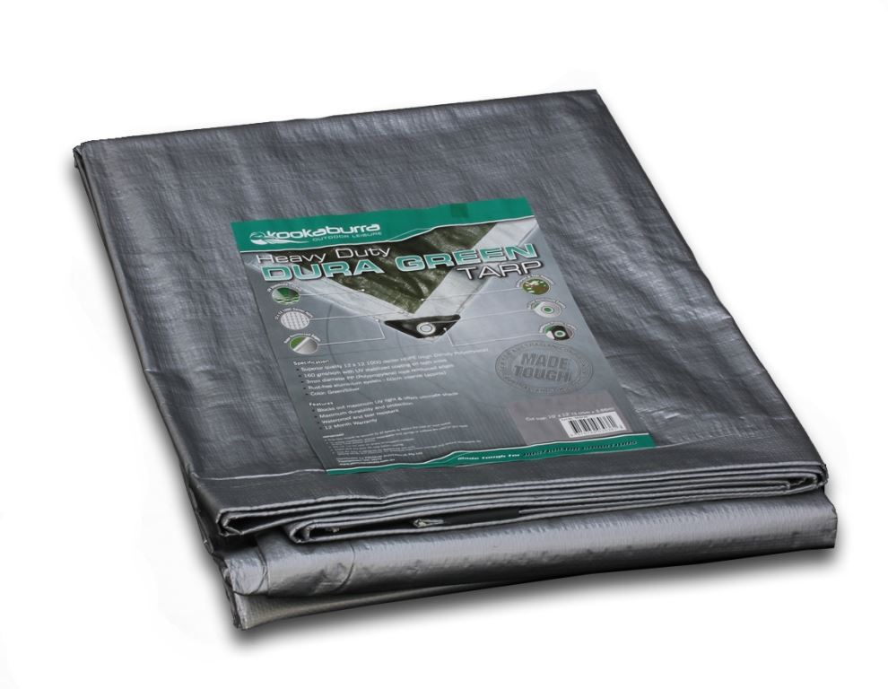 Picture of Kookaburra Dura Green Heavy Duty Tarp