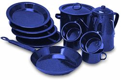 Picture of Campfire Enamel Cook Set - 11 Pce