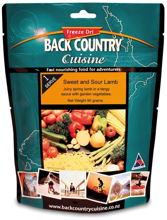Picture of Back Country Cuisine Sweet & Sour Lamb GF