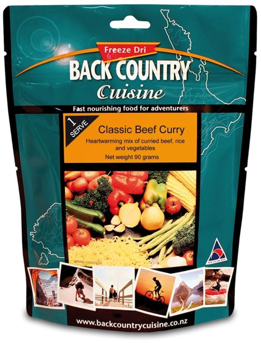 Picture of Back Country Cuisine Classic Beef Curry GF