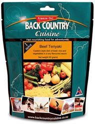 Picture of Back Country Cuisine Beef Teriyaki GF