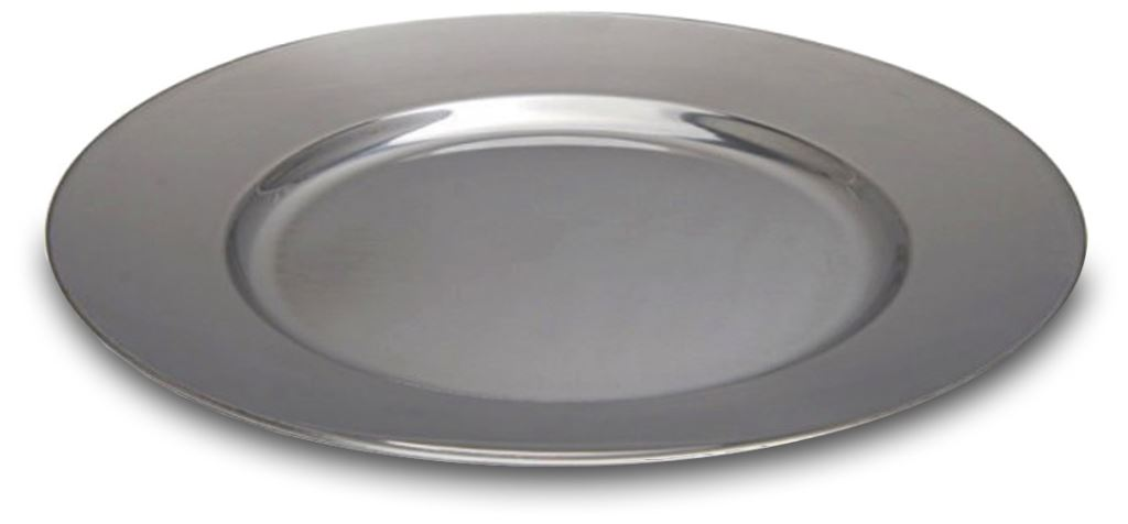 Picture of Campfire SS Flat Dinner Plate 25cm