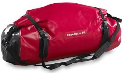 Picture of Caribee Expedition Wet Roll Bag 80L - Red
