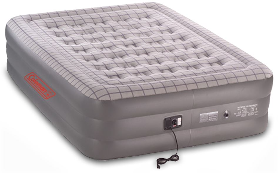 Picture of Coleman Queen Dble-High with 240v Pump Quickbed Airbed