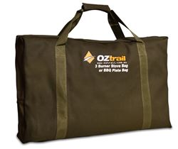 Picture of Oztrail 3 Burner Stove & BBQ Plate Bag