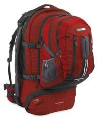 Picture of Black Wolf Cedar Breaks 55L Travel Pack Chilli