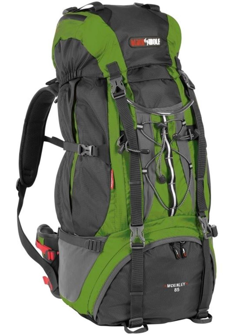 Picture of Black Wolf Mckinley 85L Rucksack