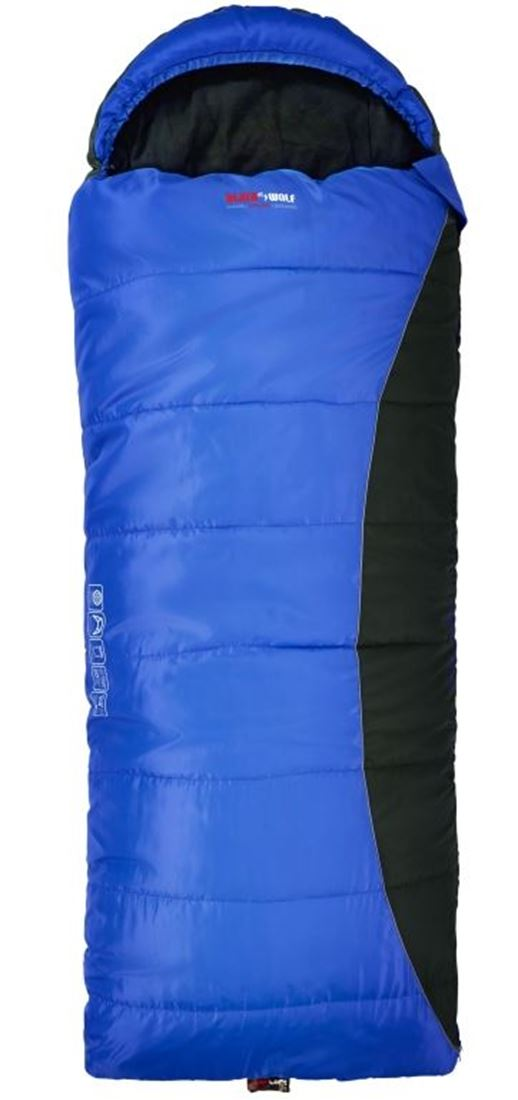Picture of Black Wolf Samurai Hooded Sleeping Bag (-10°)