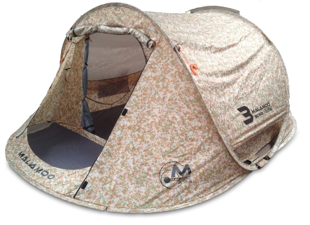 Picture of Oztent Malamoo X-Tra 3P Pop Up Tent - Camo