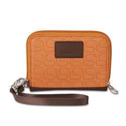 Picture of Pacsafe RFIDsafe W100 Travel Wallet Apricot