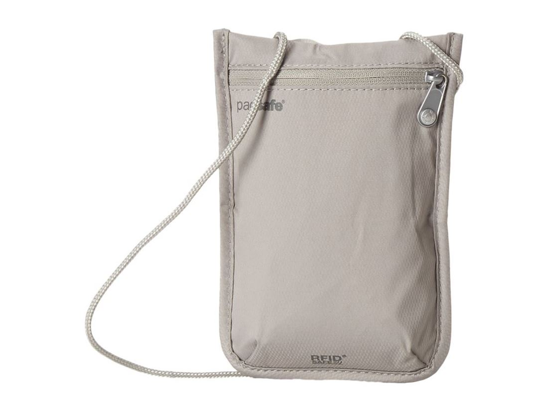 Picture of Pacsafe RFID Safe 75 Neck Pouch - Grey