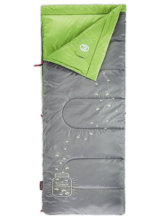 Picture of Coleman Fyrefly Illumi-Bug Kids Sleeping Bag (7°)