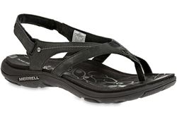 Picture of Merrell Buzz Leather Women's Sandal Black