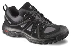 Picture of Salomon Evasion Leather Mens Shoe  Black