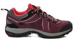 Picture of Salomon Ellipse 2 Leather Women's Shoe US 6 - Swamp/Pinot/Papaya