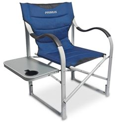 Picture of Primus Wave Arm Chair with Table  Blue/Silver