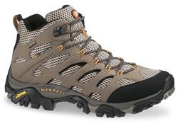 Picture of Merrell Moab Mid GTX Men's Shoe Dark Tan
