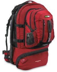 Picture of Black Wolf Cedar Breaks 75L Travel Pack Chilli