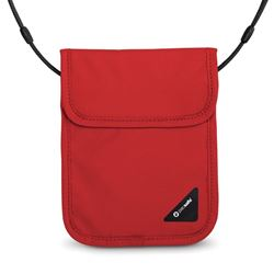 Picture of Pacsafe Coversafe X75 RFID Blocking Neck Pouch Chilli