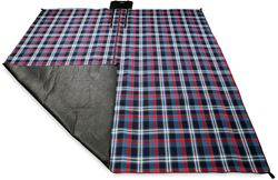 Picture of Oztrail Picnic Rug Deluxe Dark Blue/Red