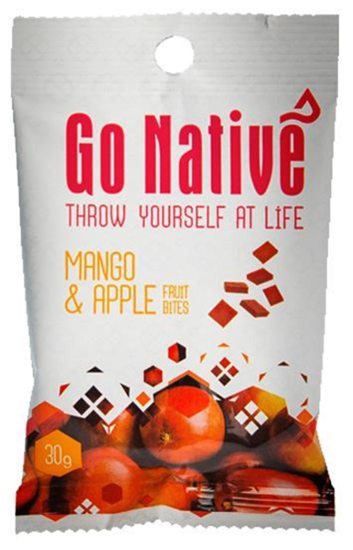 Picture of Go Native Mango & Apple Fruit Bites