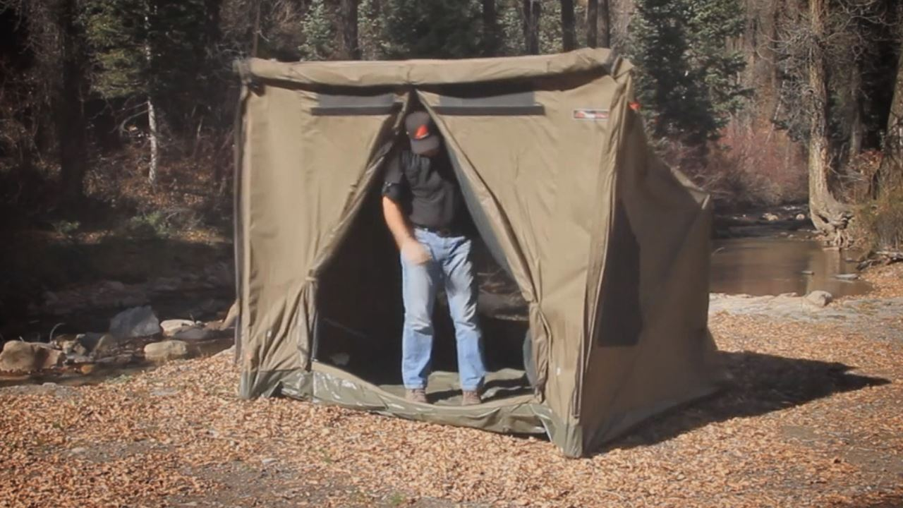 RV4 Canvas Touring Tent - Video