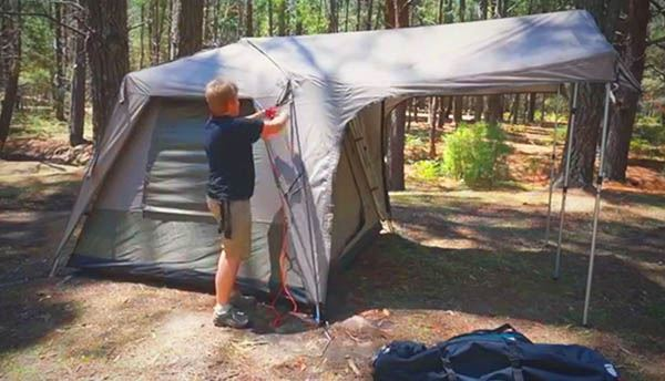 Turbo 240 Tent - Video