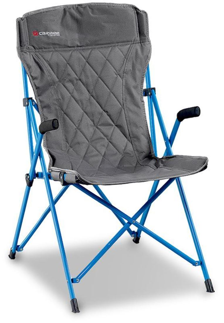 Caribee Chieftain Chair Grey Blue