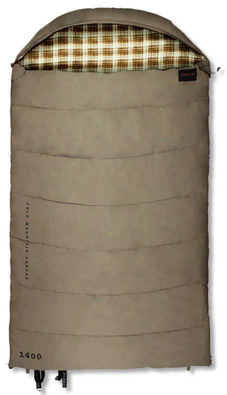 Darche Cold Mountain Canvas 1400 Sleeping Bag