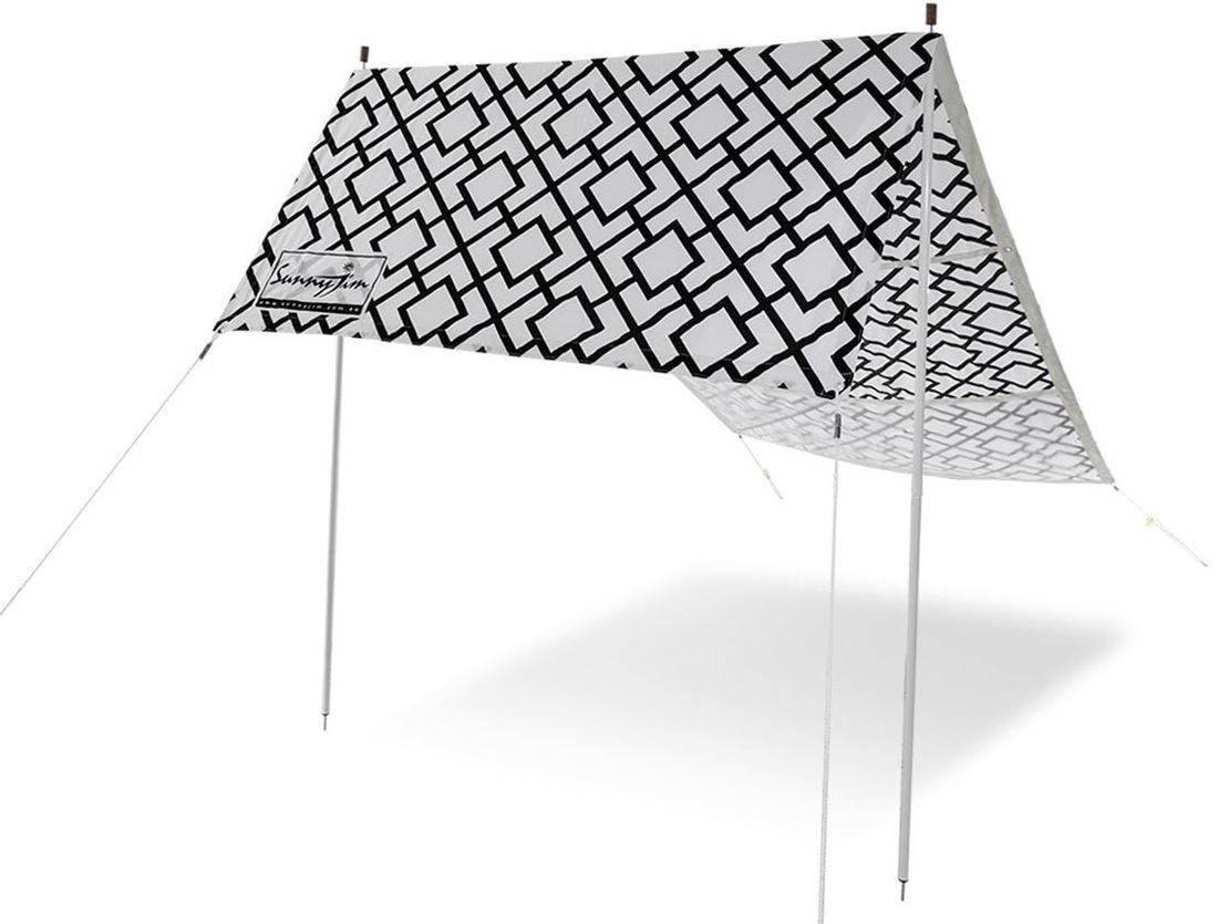 Sunny Jim Bondi Black & White Beach Shade