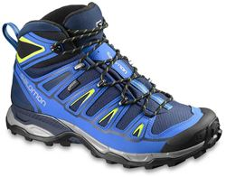 Picture of Salomon X Ultra Mid 2 GTX Men's Boot Blue Depth/Union Blue/Gecko Green
