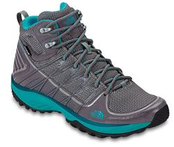 The North Face Litewave EXP Mid Women's hiking Boot Steeple Grey/Bluebird