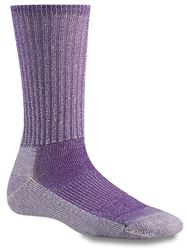 Smartwool Hike Light Women's Merino Wool Sock Light Grey Grape