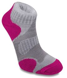 Picture of Bridgedale Cool Fusion Multisport Wmn's Sock Grey/Raspberry