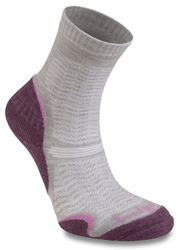 Bridgedale Wool Fusion Ultra Light Women's Hiking Sock Aubergine