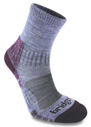 Bridgedale Trail Light Women's Hiking Sock Heather/Dam